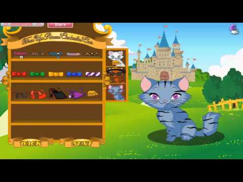 Cinderellas Cats - Free mobile Dress up Game Tutorial for funny little ladies