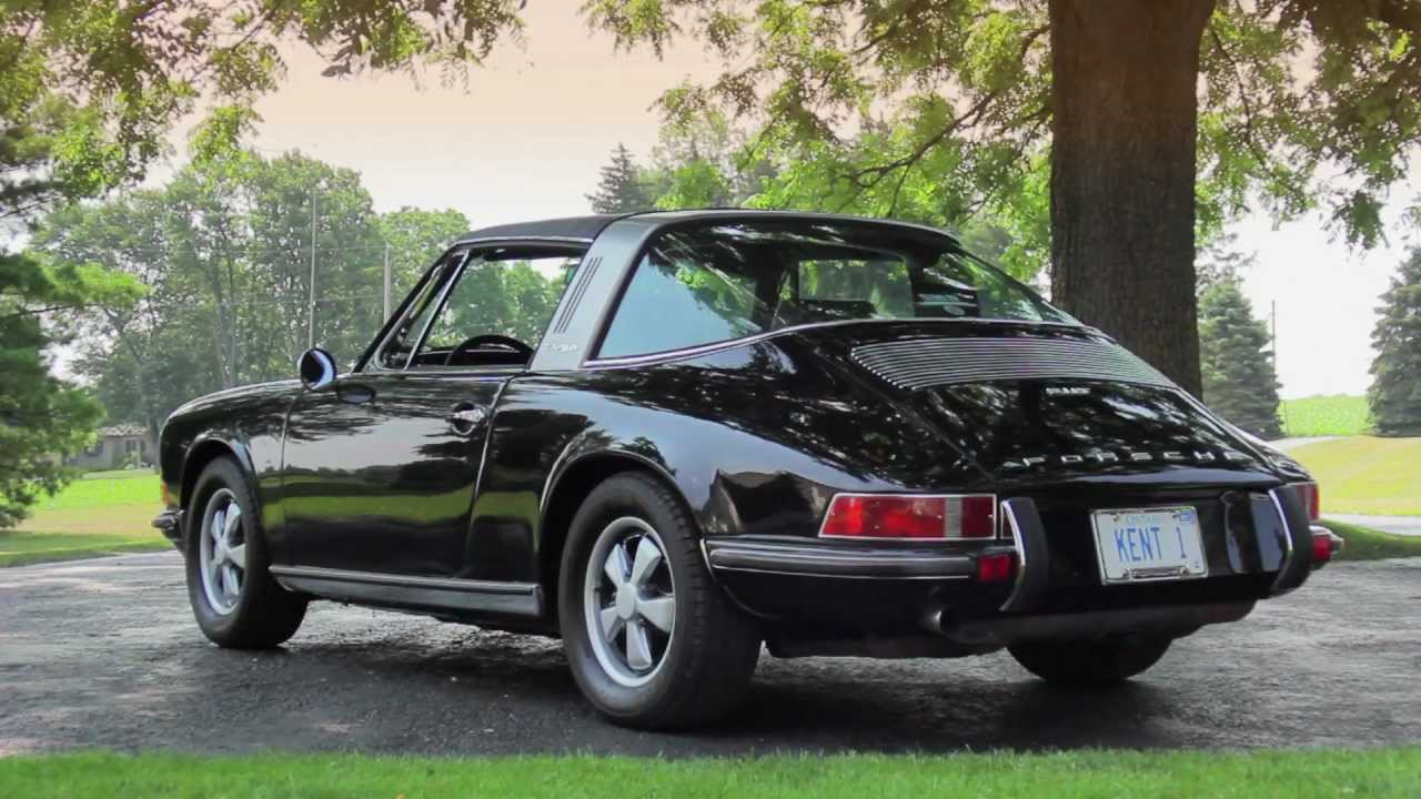 1971 porsche 911 targa youtube. Black Bedroom Furniture Sets. Home Design Ideas
