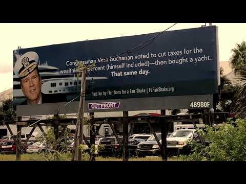 Billboard attacks Rep. Vern Buchanan over yacht
