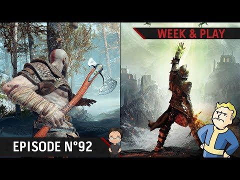 Prochain God of War, nouveau Dragon Age et Superman par Rocksteady | WP#92