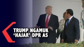 Dimakzulkan, Donald Trump Ngamuk Hajar DPR AS