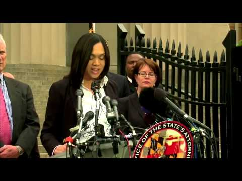 Baltimore State's attorney press conference