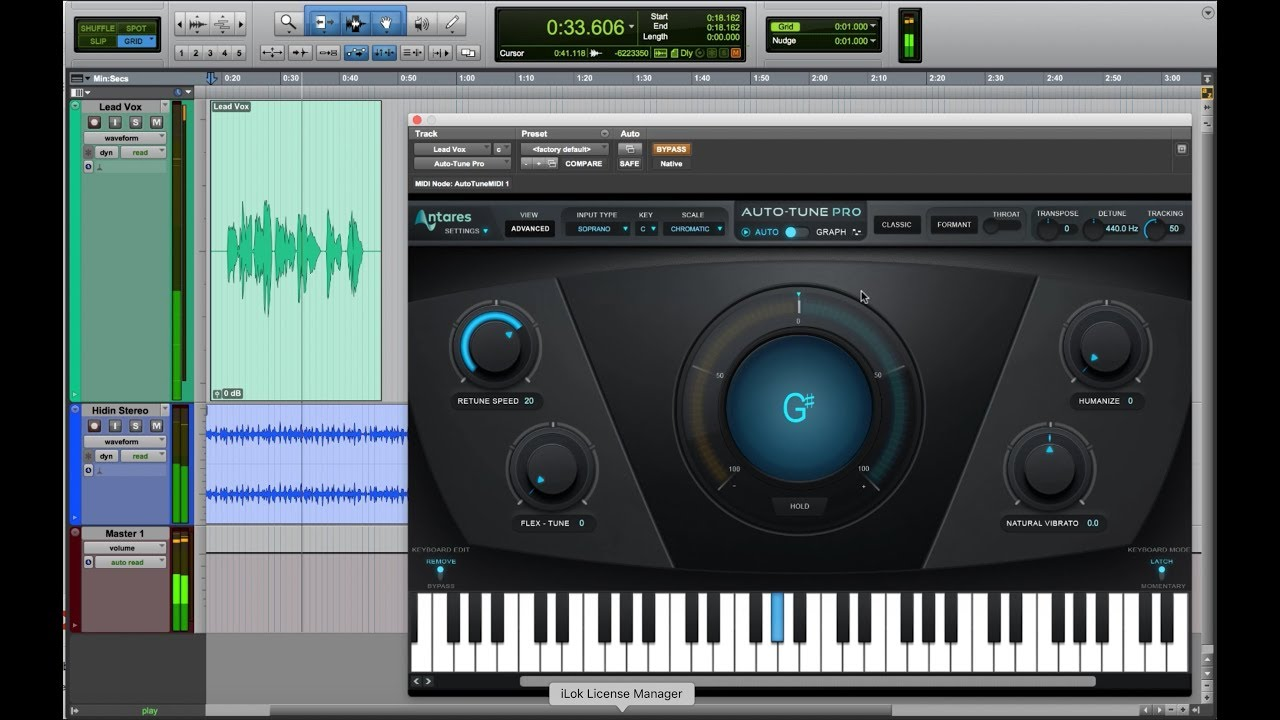 Getting the Auto-Tune Effect with Auto-Tune Pro