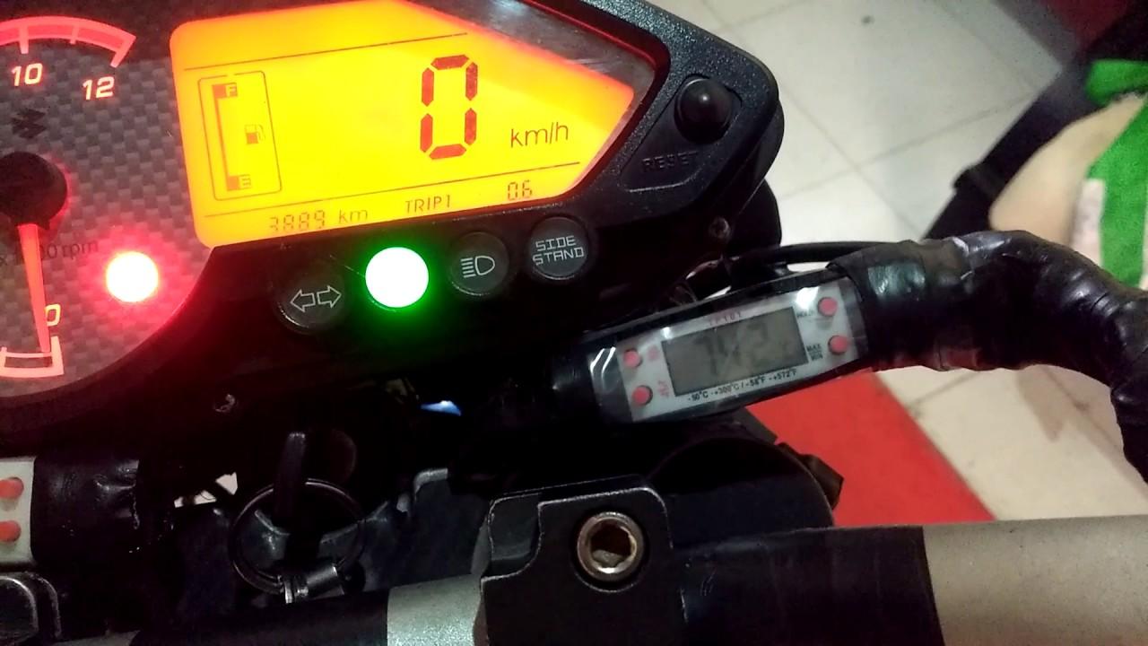 Temperatura en moto