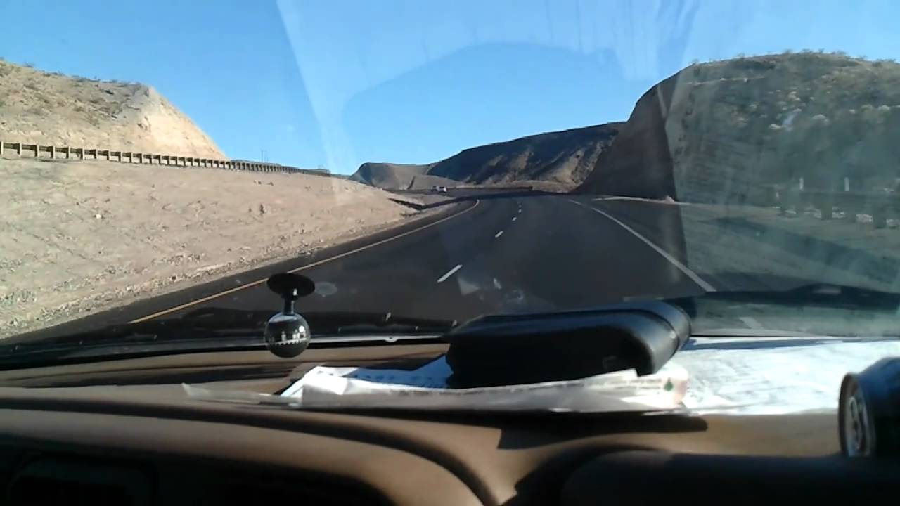 Passing the Hoover Dam on the way back to Phoenix