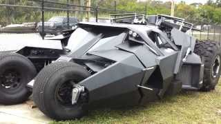 Batman Tumbler Replica built by Parker Brothers Concepts