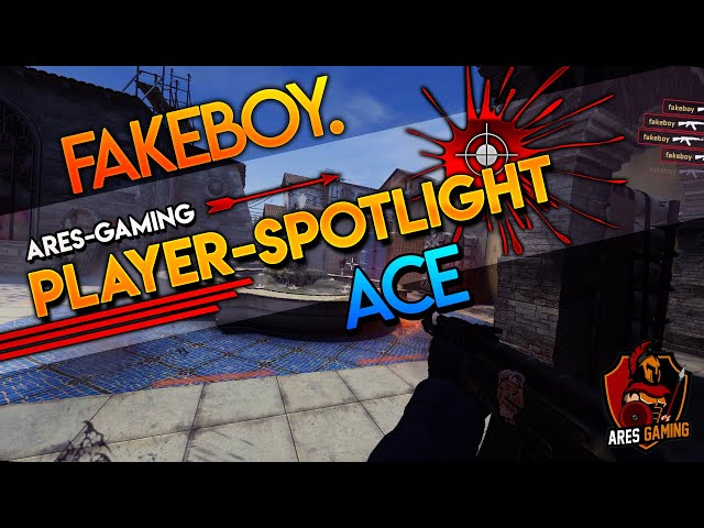 Player-Spotlight: fakeboy. INSANE 1vs5 ACE-CLUTCH [CS:GO] by ares-gaming