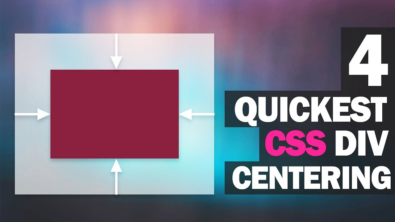 4 Quickest Ways to Center Div with CSS