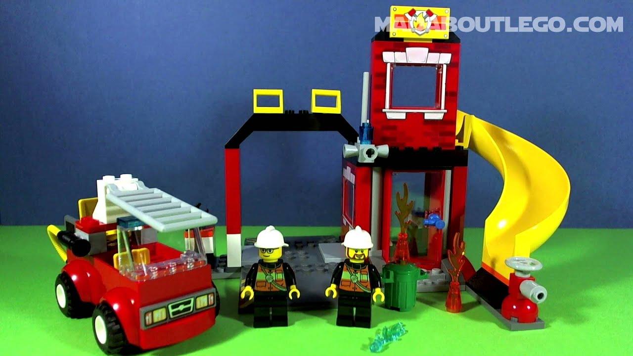 Lego Juniors Fire Emergency 10671 Youtube