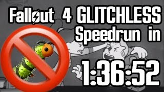 Fallout 4 Glitchless Speedrun in 1:36:52 (World Record)