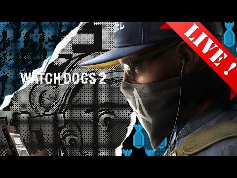 [Ps4]Live ! Watch Dogs 2 - 3310 Hack ข้อมูลโลก