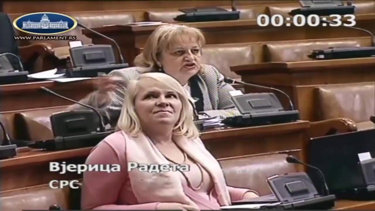 Download Vjerica Radeta: Ministre, sredite loše stanje škola u Srbiji!