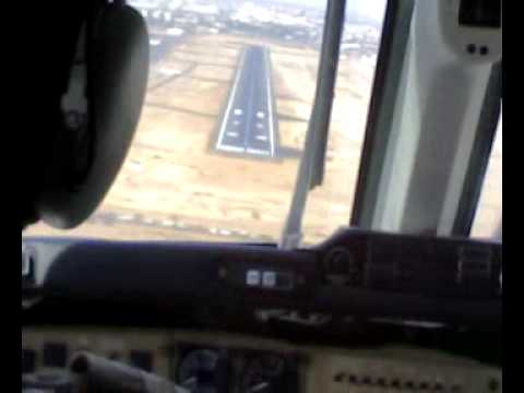 Landing at Khartoum