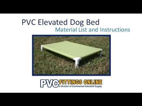 Pvc Elevated Dog Bed Diy Guide Youtube