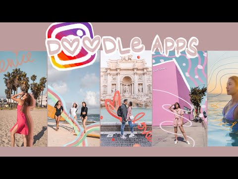 CREATIVE INSTAGRAM STORY IDEAS Using Doodle Apps | Angel Yeo