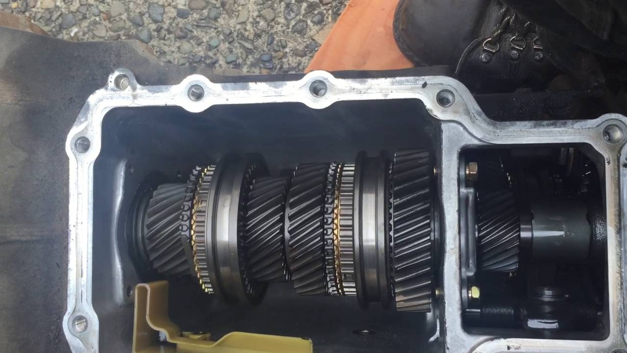 2001 ford ranger v6 m5od r1 hd transmission question