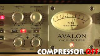testing avalon 737sp compressor bass test