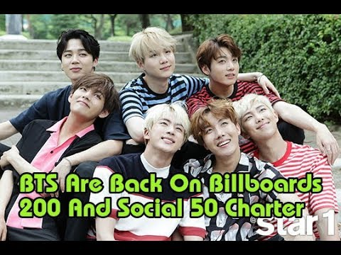 BTS are back on Billboards 200 and Social 50 charter | News Kpop