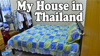 My House in Thailand. A Quick Tour of Our Thai Home.