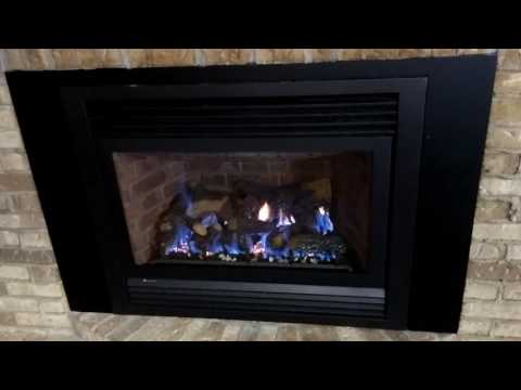 Archgard Gas Fireplace Flame Turns Blue Then Shuts Off