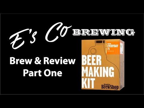 Brooklyn Brew Shop Everyday IPA All Grain - Brew And Review Part One