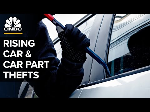 Why Thefts Of Cars And Car Parts Are Spiking