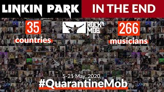 In The End - Linkin Park. 266 musicians from 35 countries #QuarantineMob Rocknmob