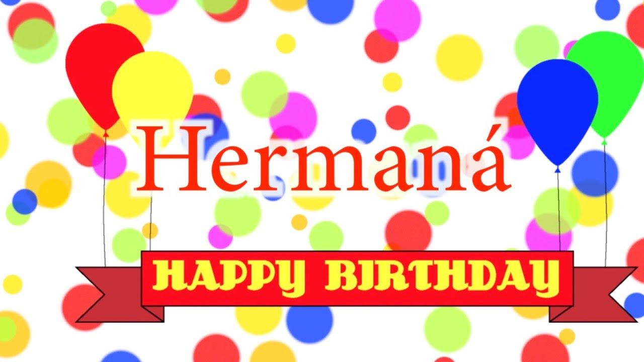 Happy Birthday Hermana Song