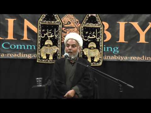 Moulana M Hassan Marufi Muharram 2014 Majlis 7