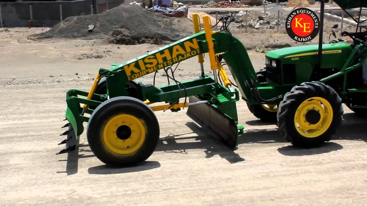 Grader Attachment Youtube
