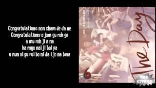 Video DAY6 - Congratulation Lyrics (easy lyrics) download MP3, 3GP, MP4, WEBM, AVI, FLV Januari 2018