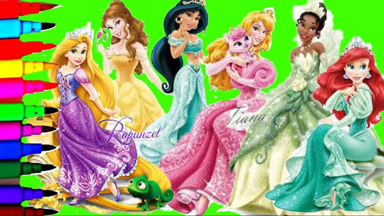 disney frozen princess elsa anna cinderella jasmine ariel tiana