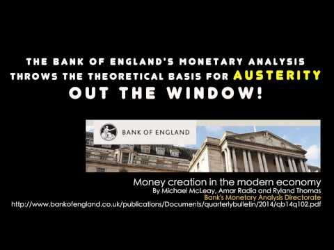 Bank Of England: Money is NO Object