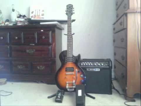 bigsby b5 vibrato on special 2 les paul youtube. Black Bedroom Furniture Sets. Home Design Ideas