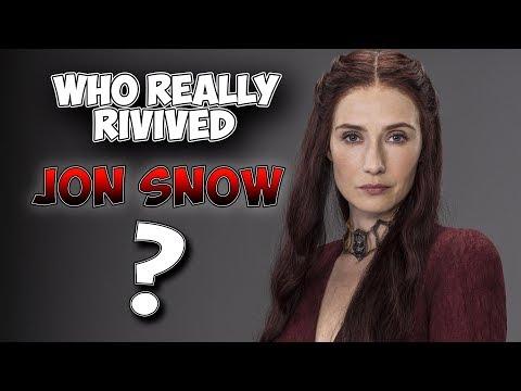 Davos Revived Jon Snow Not Melisandre - Game Of Thrones Season 7