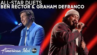 "Lovely! Graham DeFranco Sets The Mood With ""Raye"" Solo + Duet With Ben Rector! - American Idol 2021"
