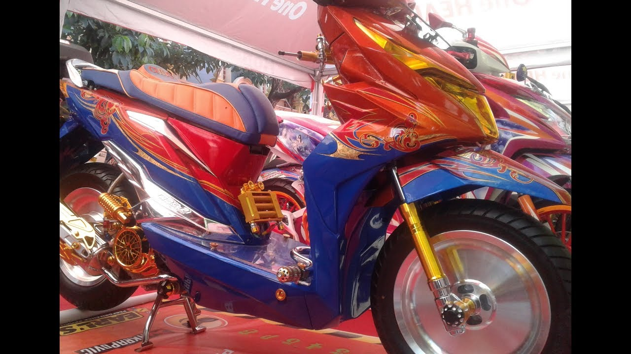 All New Honda Beat ESP Modifikasi Full Airbrush Aksesoris YouTube