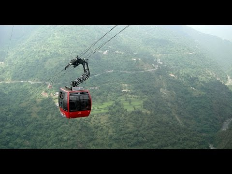 Extreme Ropeway ride at Parwanoo. Experience of a life time
