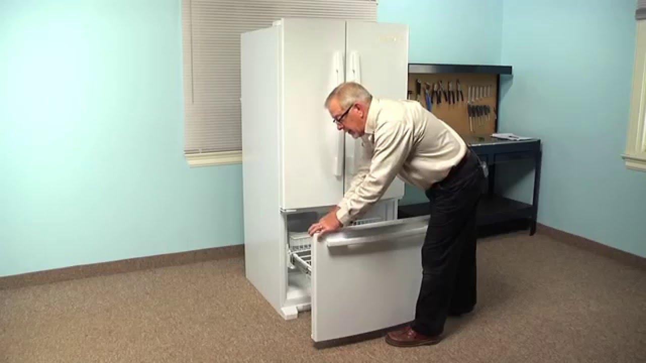 refrigerator repair replacing the freezer door gasket whirlpool part w10571962 youtube [ 1280 x 720 Pixel ]
