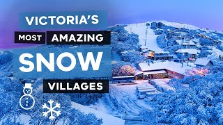 Victoria's Most Amazing Snow Villages