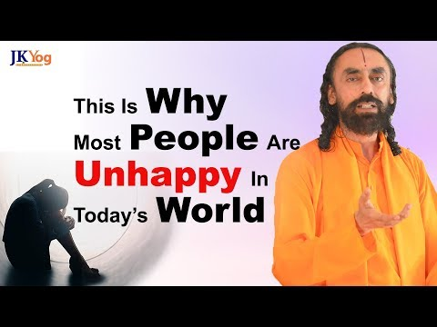 Why Most People Are Unhappy in Today's World Compared to Previous Generations?  | Swami Mukundananda
