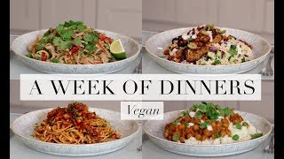 What I Ate for Dinner This Week #2 (Vegan/Plant-based) | JessBeautician