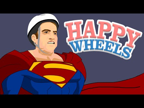 MODO SUPERMAN !!! - HAPPY WHEELS