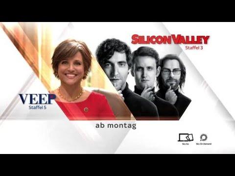"""Sky On Demand präsentiert: neue Staffeln der HBO-Comedys """"Veep - Die Vizepräsidentin"""" und """"Silicon Valley"""""""