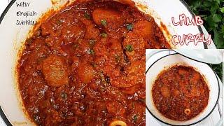 Jinsi ya kupika mchuzi wa nyama wa kukaanga   Lamb curry
