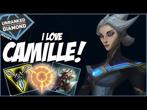 I LOVE CAMILLE! SHE'S STRONG! - Unranked to Diamond - Ep. 153 | League of Legends