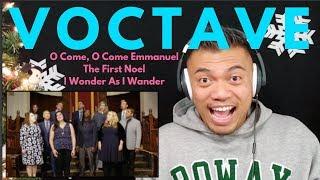 VOCTAVE singing their CHRISTMAS MEDLEY | Bruddah Sam's REACTION vids