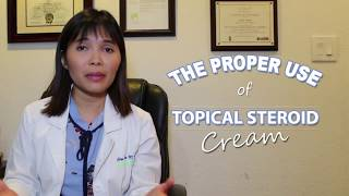 Proper Use of Topical Steroid Cream