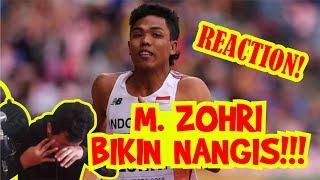 HEBOH!!! REACTION M. ZOHRI SAMPAI NANGIS!!! (Juara Lari IAAF U-20 di Finlandia)