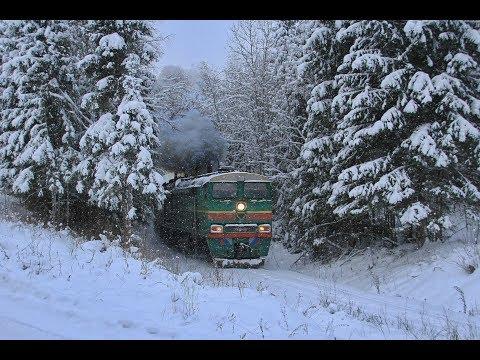 """2ТЭ10В-4457 C грузовым поездом, подъездной путь АО """"ЗТЗ"""""""